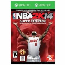 NBA 2K14 Super Fan Pack-Xbox (No Disc) (Xbox 360 & Xbox One) - NEW™