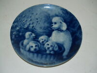 Berlin Design Muttertag 1971 Collector plate - West Germany-Poodles