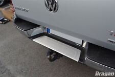 To Fit 2016+ Volkswagen VW Amarok S/S Rear Bumper Step Panel Chrome Trim Cover