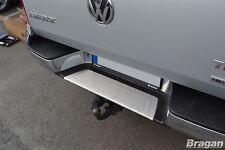 To Fit 2016+ Volkswagen VW Amarok S/S Rear Bumper Step Panel Chrome Trim Cover