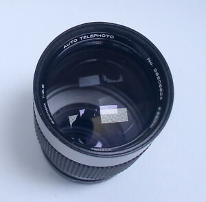 for CANON FD 200mm f/3.5 Vivitar Auto Vintage Telephoto Lens Japan