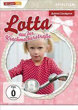 Astrid Lindgren LOTTA DE LA KRACHMACHERSTRASSE Película característica DVD nuevo