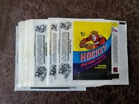 1978-79 Topps Hockey WAX PACK WRAPPER - QTY Available