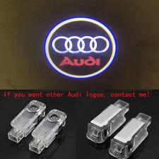 Audi 2X LED Light HD Logo Projector Emblem Ghost Shadow Door Welcome Lights