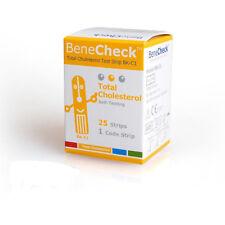 BeneCheck Total Cholesterol 25 Test Strip
