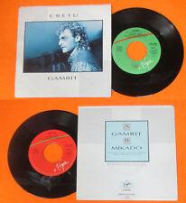 LP 45 7'' MICHAEL CRETU Gambit Mikado 1986 italy VIRGIN VIN 45188 cd mc dvd*