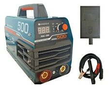 Saldatrice inverter a elettrodo 500A+MASCHERA +ACCESSORi elettrodo 2.5-5 MAC500