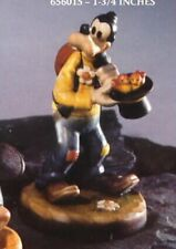 "Disney Goofy Brids in hat t Woodcarving Anri 4"" tall Iatly"