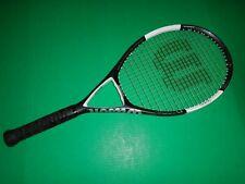 "Wilson nCode N6 Oversize (110) Tennis Racquet. 4 3/8. 9.6 oz. 27.5"". VG."
