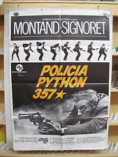 A2791 POLICIA PYTHON 357 YVES MONTAND SIMONE SIGNORET