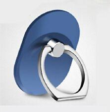 NEW Universal 360 Degree Rotating Finger Ring Phone Stand Holder - Blue