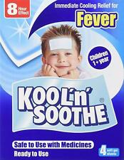 Kool 'N' Soothe Cooling Strip Sachets Kids Multipack 4 Immediate Cooling Relief