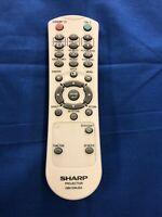 Sharp Projector Remote Control GB015WJSA Used