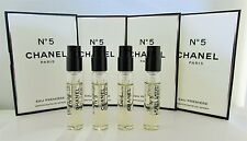 Chanel No 5 Eau Premiere Perfume EDP Spray Sample Vials Women .06 oz 2ml x 4 PCS
