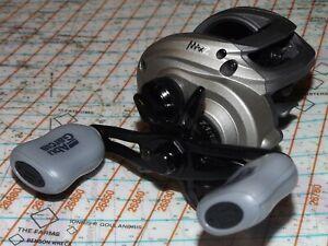 ABU GARCIA AMBASSADEUR MAX Z R/H LOW PROFILE BAITCAST FISHING REEL 7.1:1