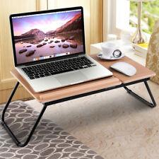 Goplus Laptoptisch Notebooktisch Betttisch Faltbar Notebook Ständer Betttablett