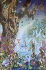 Adrian Chesterman Fairy Falls Poster 24 X 36