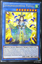 SHINOBIBARONESSA PAVONE Shinobaroness Peacock RATE-IT037 Rituale Rara ITA YUGIOH