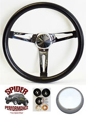 """Fits all cars 1965-1969 Mercury steering wheel 13 1/2"""" MUSCLE CAR CHROME"""
