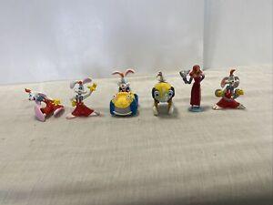 Vintage  Disney Classics - Who Framed Roger Rabbit - Figure Lot of 6