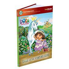 NEW LeapFrog Tag LeapReader Book Dora the Explorer Tale of Unicorn King; 4-6 yrs