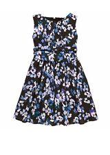 NWT KATE SPADE Sz4Y TODDLER GIRLS FLORAL SLEEVELESS DRESS HYDRANGEA $118