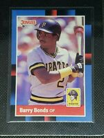 1988 Donruss Baseball BARRY BONDS #326 Pittsburgh Pirates MINT
