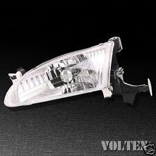 1998-2000 Toyota Corolla Headlight Lamp Clear lens Halogen Driver Left Side