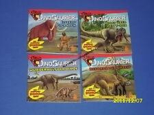 4 Bücher - Dinosaurier - Miniausgabe Nr 1 - 4