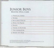(BK342) Junior Boys, Begone Dull Care - 2009 DJ CD
