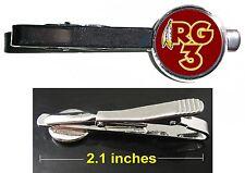 Washington Redskins Robert Griffin III RG3 Tie Clip Clasp Bar Slide Silver Metal