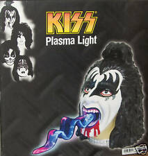 Gene Simmons KISS Plasma Light Neon LED tongue lite Rare Collectible Xmas Gift