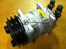 NEW SELTEC TM15 REFRIGERATION COMPRESSOR 2AG TWIN V BELT 12V CARRIER XARIOS STBY