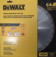 """Dewalt DW71230F 12"""" X 30T C4 Fast Ripping Saw Blade"""