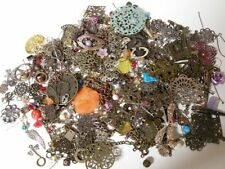 NEW! METAL & MORE MIX Beads Lot Jewelry Making Supplies Filigree Lucite 1/2 lb