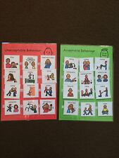 Pecs/boardmaker comportamiento Pack de Actividades para autism/asd/adhd / aprendizaje visual