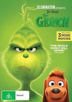 The Grinch (DVD, 2019) Region 4