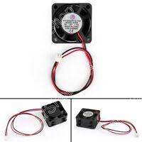 1x DC Brushless Ventilateur de Refroidissement 12V 4020s 40x40x20mm 0.13A 2 Pin