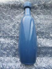 Old Vintage USA Art Pottery Vase Experimental Color JarJ #835