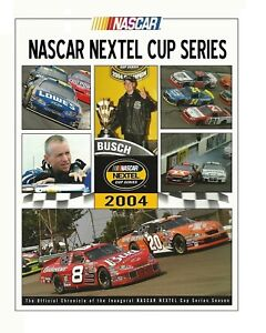 NASCAR NEXTEL Cup Series - Inagural Season 2004 - HC w/DJ 1st PRINT - NEAR MINT