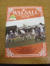 18/05/1988 Play-Off Semi-Final Division 3: Walsall v Notts County  . Bobfrankand