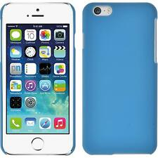 Hardcase Apple iPhone 6s / 6 rubberized light blue Cover + protective foils