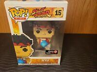 Funko Pop! 8-Bit Street Fighter Ryu #15 Game Stop Exclusive Vinyl Figure
