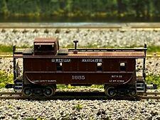 N Scale - Atlas Western Maryland Steel Caboose WM 1835 N2197