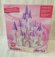 Wilton Romantic  Castle Cake Set 32 Piece    New Open Box