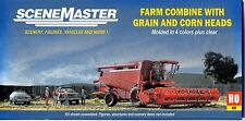 HO Scale Walthers SceneMaster 949-11003 Farm Combine w/Grain & Corn Heads