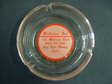 FAMOUS MADONNA INN SAN LUIS OBISPO,CALIF   glass ash tray   Vintage