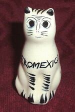 More details for aeromexico..rare ceramic hand painted cat tonala souvenir airline mexican 1970's