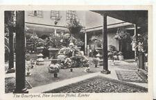 Devon Postcard - The Courtyard - New London Hotel - Exeter - Ref TZ1169