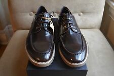 ROGUE ADAMS SHINE DARK BROWN LEATHER LACED UP DRESS CASUAL OXFORDS SHOES 10.5